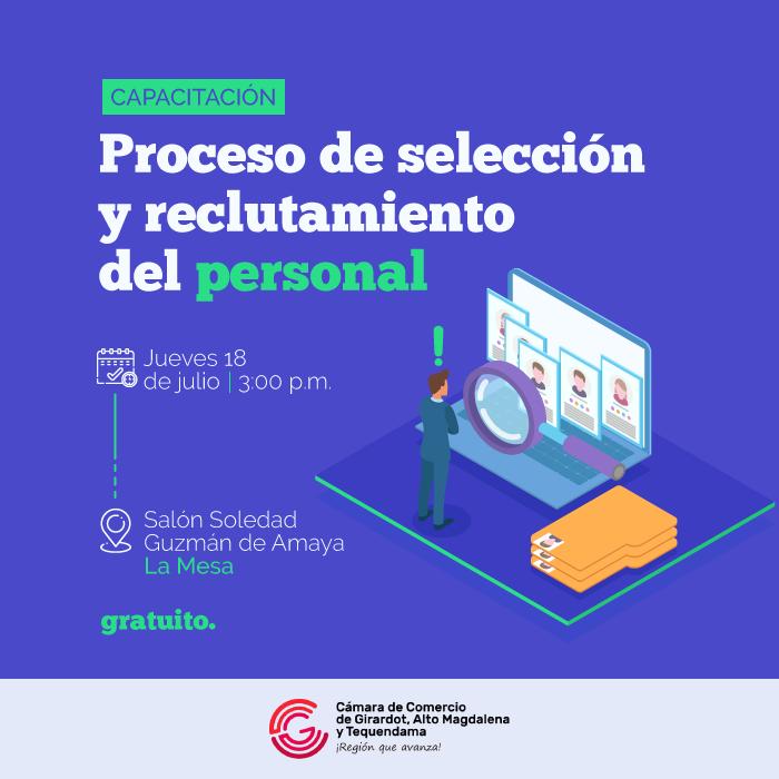 Proceso de selección y reclutamiento del personal - La Mesa