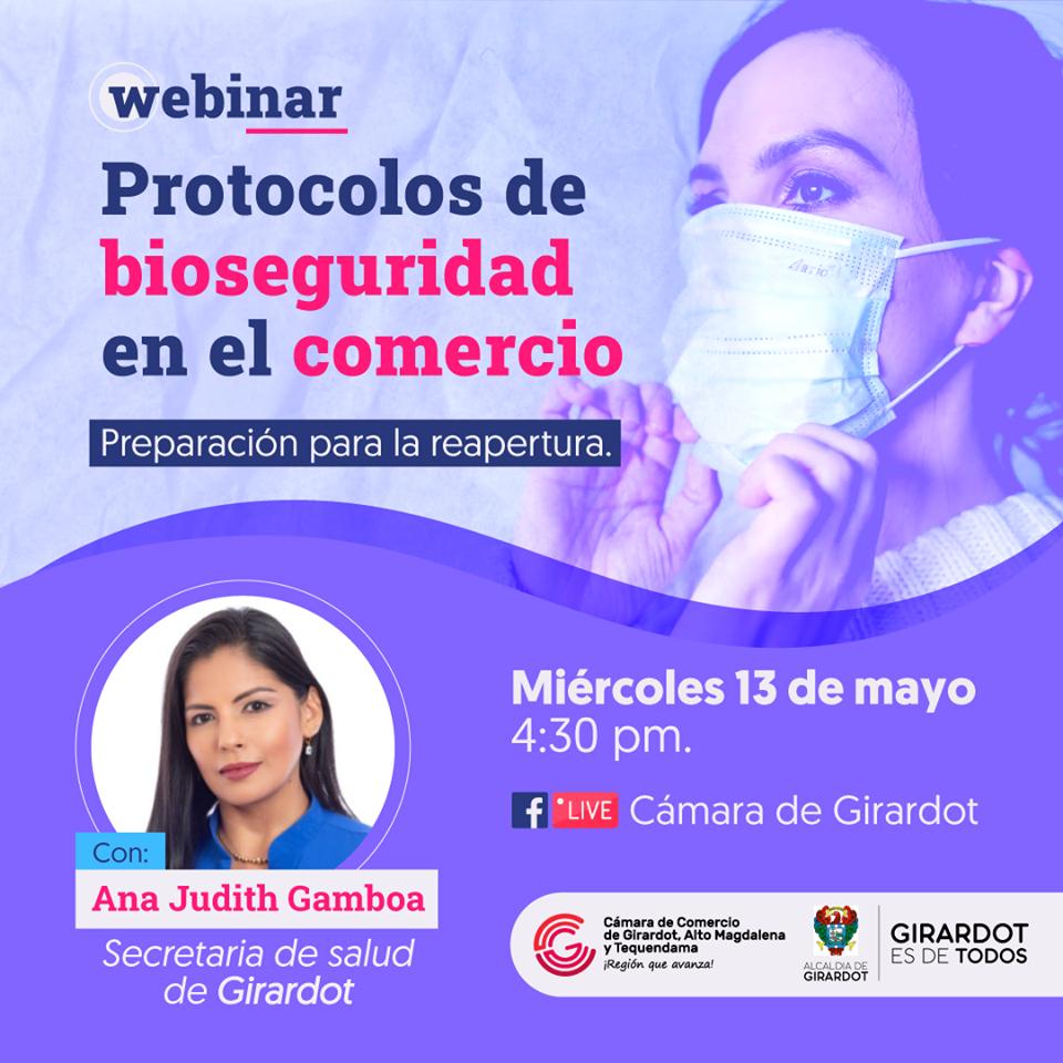 Webinar: Protocolo de Bioseguridad en el Comercio