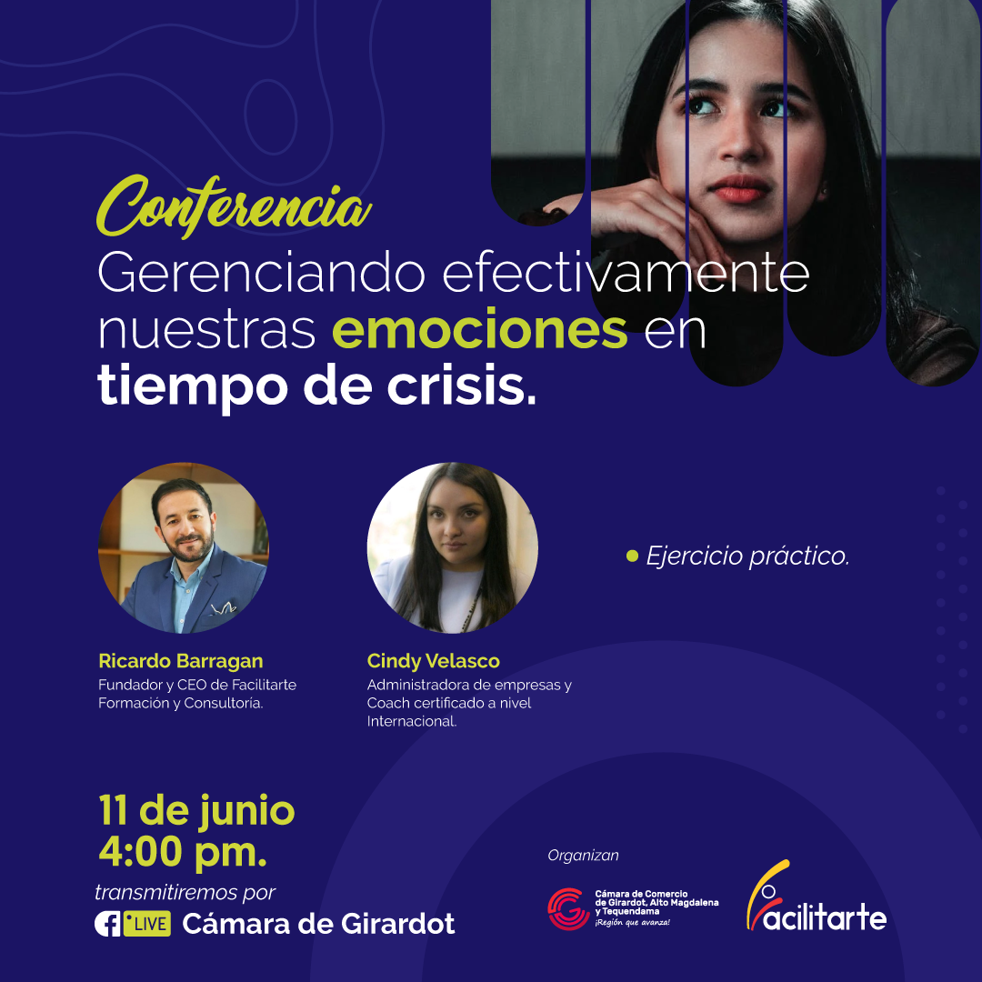 Conferencia: Gerenciando efectivamente nuestras emociones en tiempos de crisis