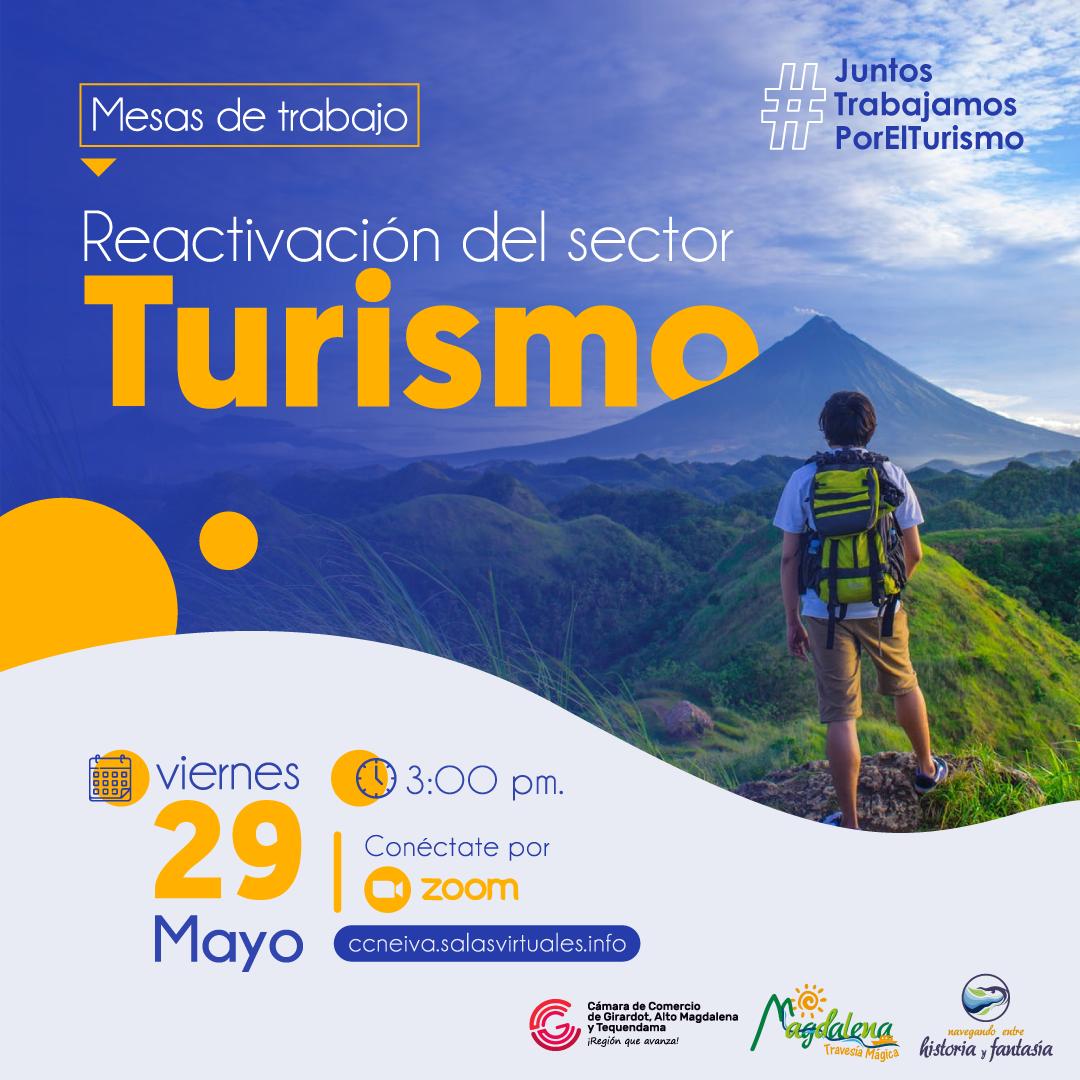 Mesas de trabajo para la reactivación del turismo