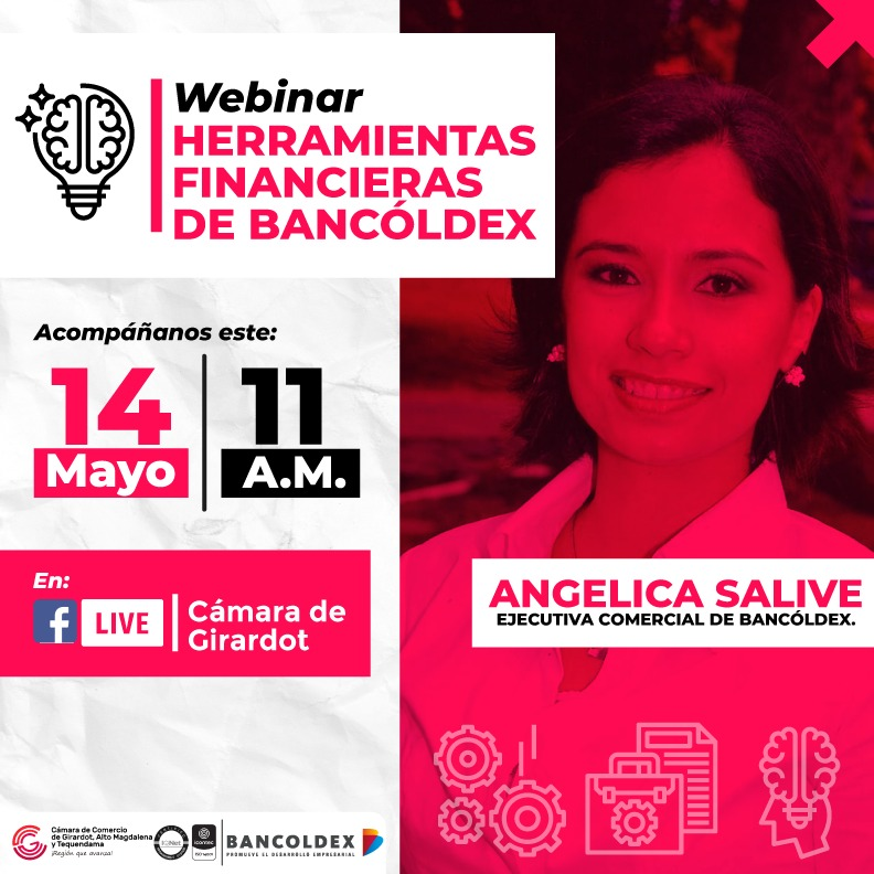 Webinar Herramientas financieras de Bancóldex