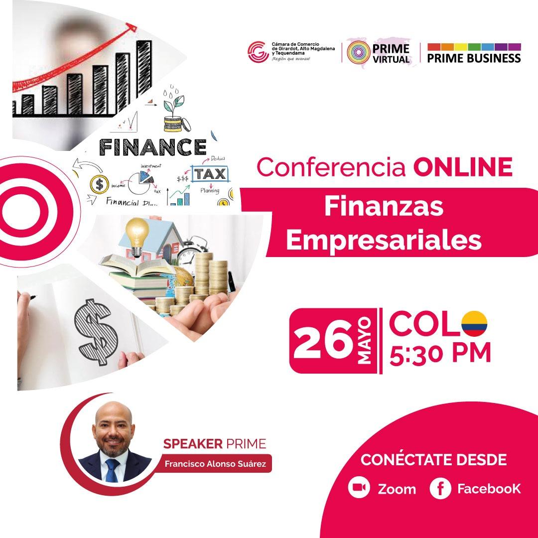 Webinar Finanzas Empresariales