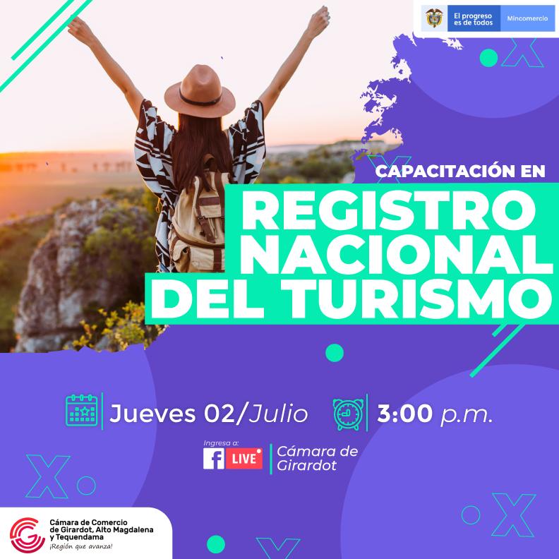 Capacitación Registro Nacional del Turismo