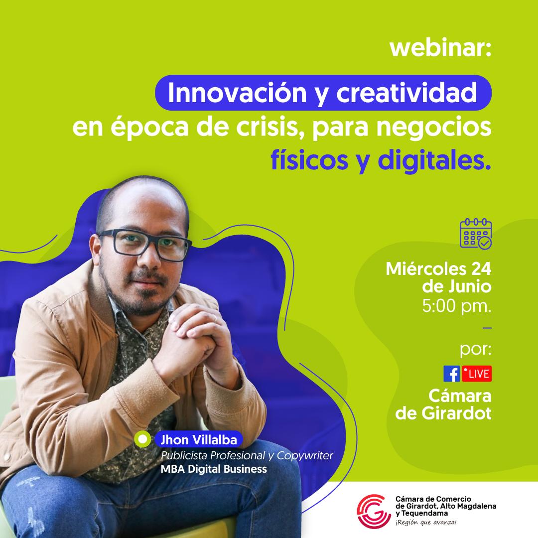 Innovación y creatividad en época de crisis, para negocios físicos y digitales