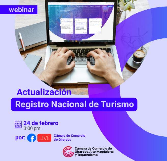 Webinar de Actualización del Registro Nacional de Turismo